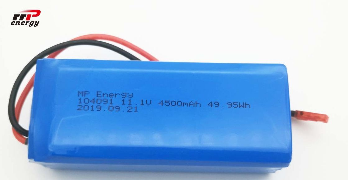 High Discharge LIPO Lithium Polymer Battery 3S1P 11.1V 4500mAh One Year Guarantee