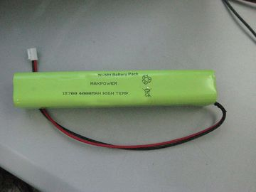 China Notbeleuchtungs-Batterie NIMH 18700 4000mAh 4.8V der hohen Temperatur usine