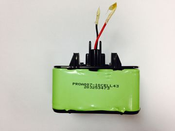 China Hochspannung 12V Batterie Sc 3300mAh Nimh verpackt mit Plastikwohnung distributeur