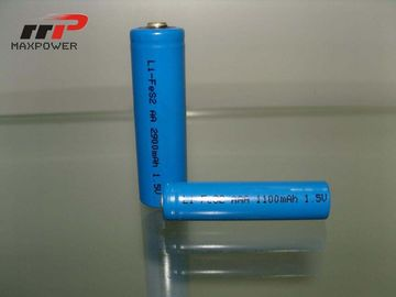 China Primärlithium-batterie-hohe Temperatur AAA LiFeS2 1100mAh 1.5V distributeur