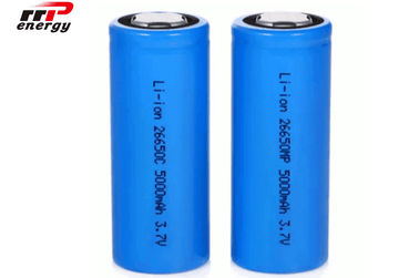 China Hohe Rate COLUMBIUM Lithium-Ionenakkus 3.7V 26650 5000mAh eine Jahr-Garantie distributeur